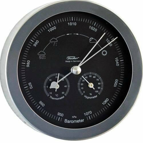 In & Outdoor Modern Barometer Weather Station