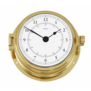 Nautical  Brass Clock Navigator