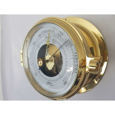 Nautical Brass Barometer