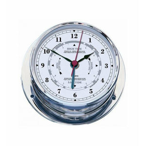 Chrome Tide Clock Navigator
