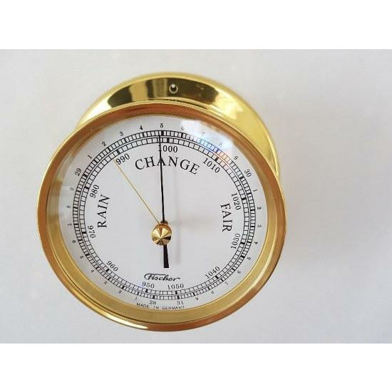 brass barometers