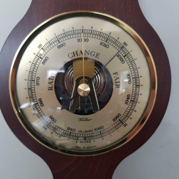 Banjo wooden weather station