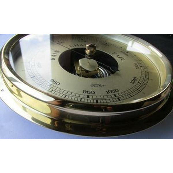 200mm large barometer made by fischer germany