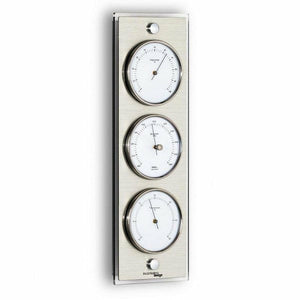 Wall barometer weather station cellarius design