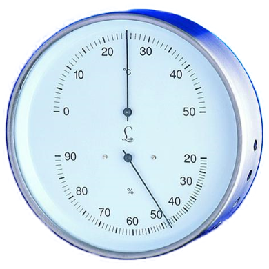 Precision lufft Thermometer & Hygrometer