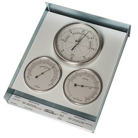 Stainless modern outdoor weather station