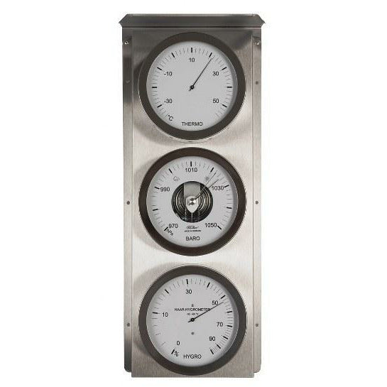 Large Indoor or Outdoor Barometer  Weather Station