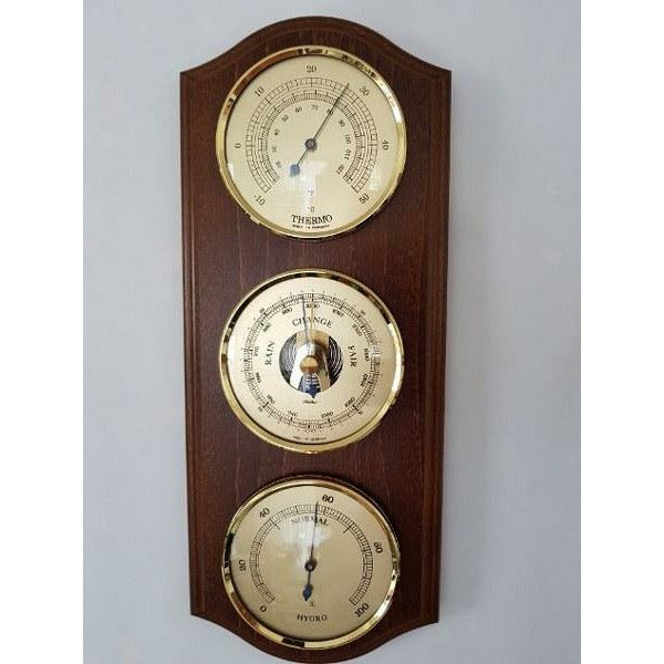 wooden weather stations