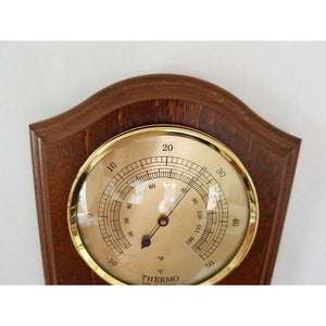 Stylish wall mounted weather station