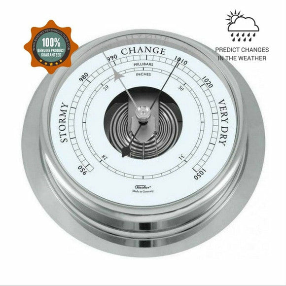 Fischer 1606B-47 Chrome Barometer 200mm