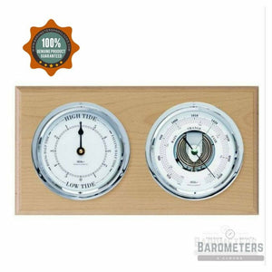 Tide Clock & Barometer Combination
