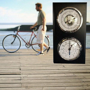 Modern virtical  barometer & tide clock