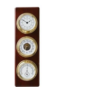Weather Station Clock Combo