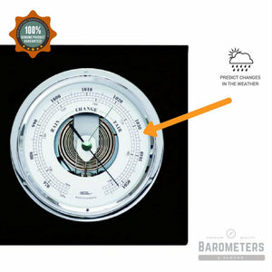Barometer and tide clock