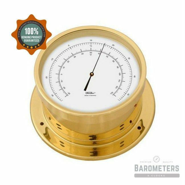 Nautical Brass Precision Thermometer Navigator