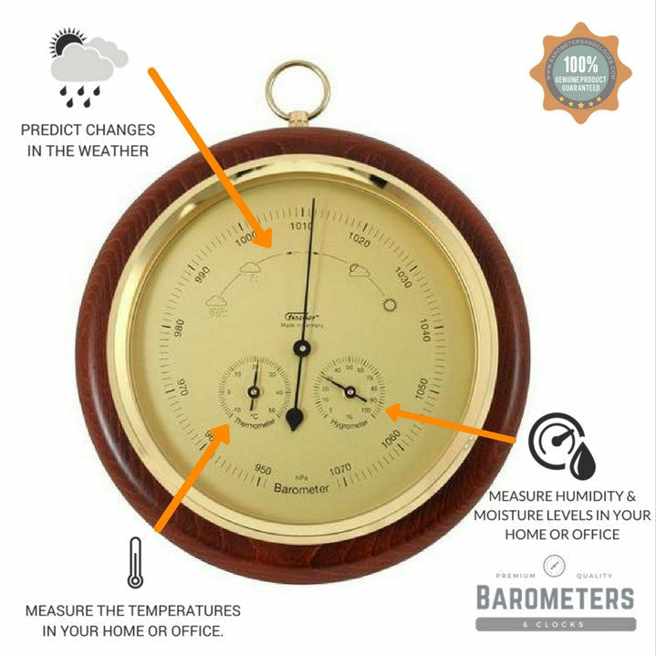 Round Barometer  Weather-Station