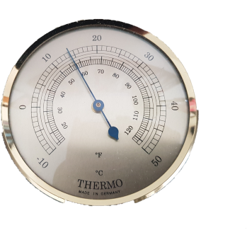 build your own weather station 63mm Thermometer Fit up