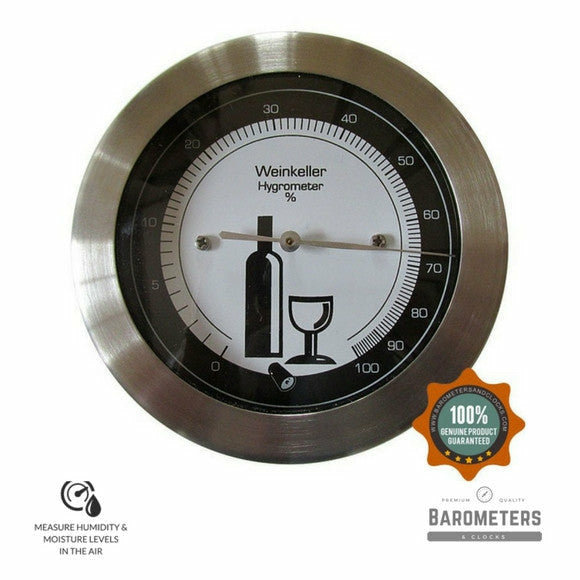 Wine Cellar Thermometers Amp Hygrometers Free Shipping