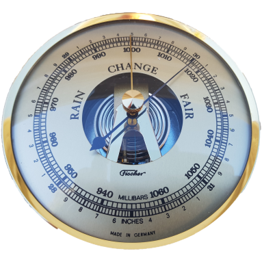 build your own weather station 100mm barometer Fit up