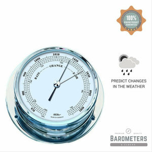 Nautical Navigator Chrome Barometer