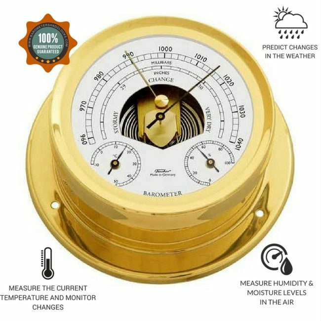 fisher brass weatherstation