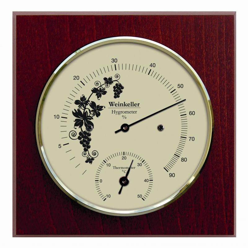Wine Cellar Hygrometer & Thermometer