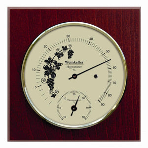 Wine Cellar Hygrometer & Thermometer made by Fischer Germany