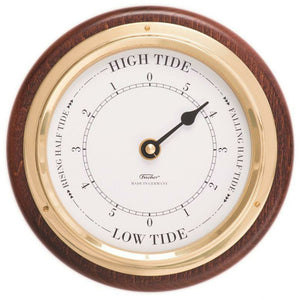 Fischer wall round tide clock mahogany