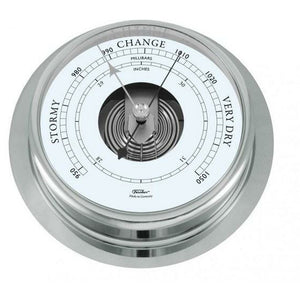 Large Chrome Barometer 200mm