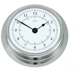 Fischer  Chrome Clock 200mm