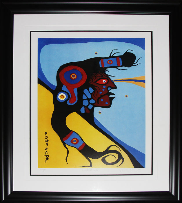 Spiritual Self Limited Edition /950 Native Indian Heritage Art Print by Norval Morrisseau