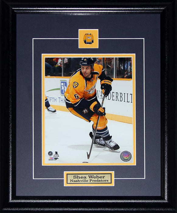 Shea Weber Nashville Predators 8x10 NHL Hockey Memorabilia Collector Frame