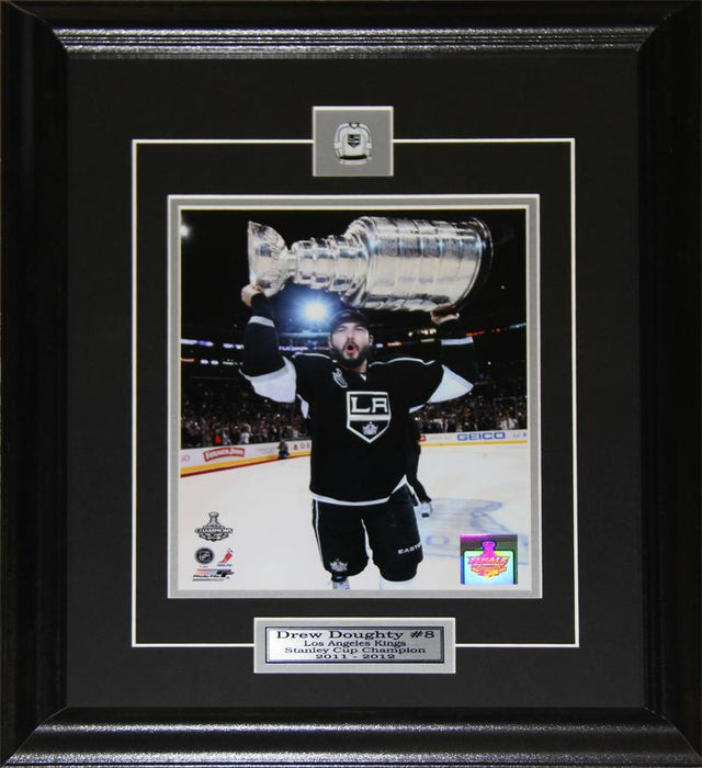 Drew Doughty Los Angeles Kings Stanley Cup 8x10 NHL Hockey Collector Frame