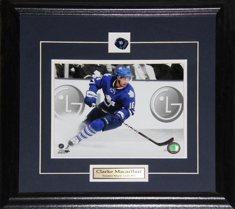Clarke Macarthur Toronto Maple Leafs 8x10 NHL Hockey Memorabilia Collector Frame