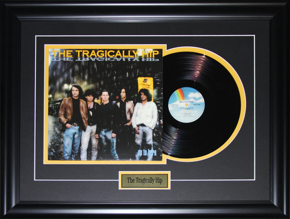 The Tragically Hip Record Album Music Rock 'n' Roll Memorabilia Collector Frame