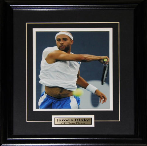 James Blake Professional Tennis Player 8x10 Sports Collector Frame