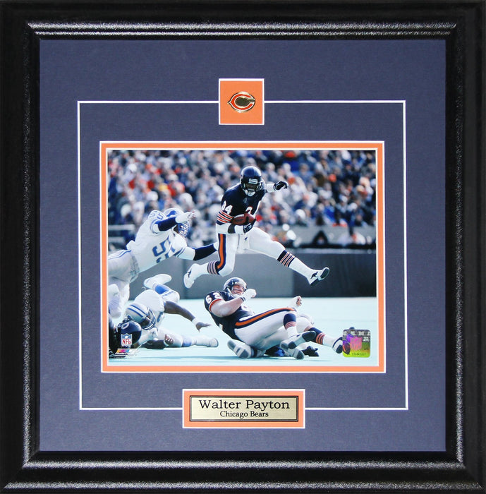 Walter Payton Chicago Bears NFL Football Memorabilia Collectors 8x10 Frame (Horizontal)