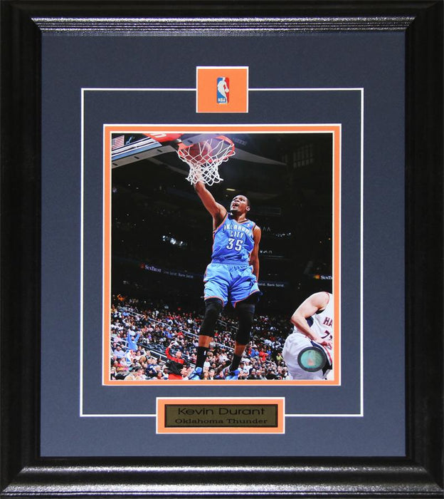 Kevin Durant Oklahoma City Thunder 8x10 NBA Basketball Collector Frame