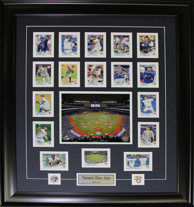 Toronto Blue Jays 2013 Topps Card Collection MLB Baseball Collector Frame