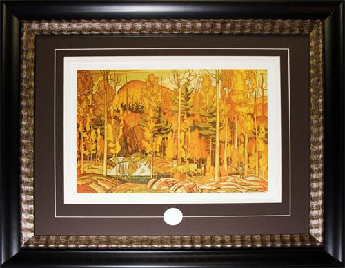 Autumn Decorations, 1931 by Group of Seven Artist  Canadian Art Print Frame