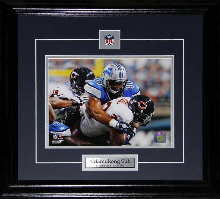 Ndamukong Suh Detroit Lions 8x10 NFL Football Memorabilia Collector Frame
