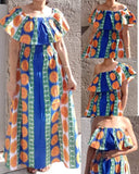#7050 TUBE LONG MAXI  DRESS