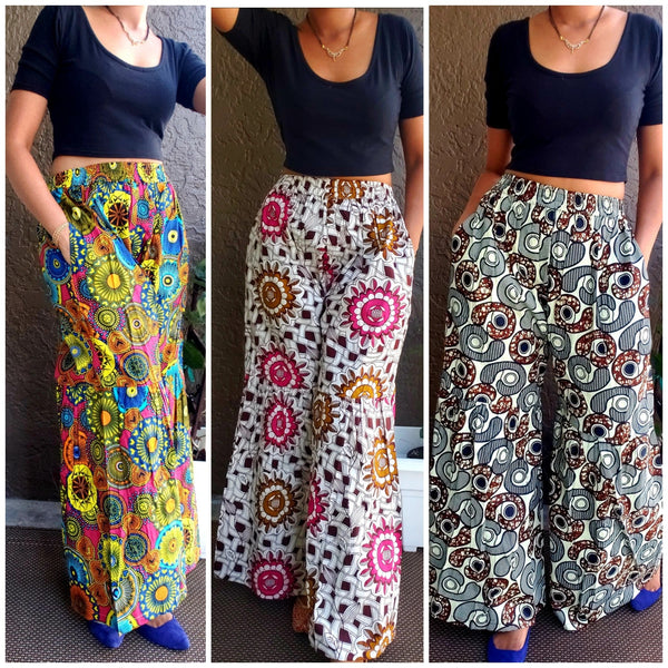 AUTHENTIC AFRICAN BELL PANT