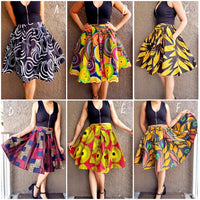 #7008 WOMAN SHORT MAXI SKIRT