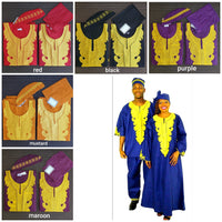 MATCHING SETS MEN / WOMAN / EMBROIDERY