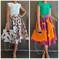 WOMAN SKIRT POCKETBOOK SET