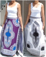 WOMAN LONG WRAP SKIRT