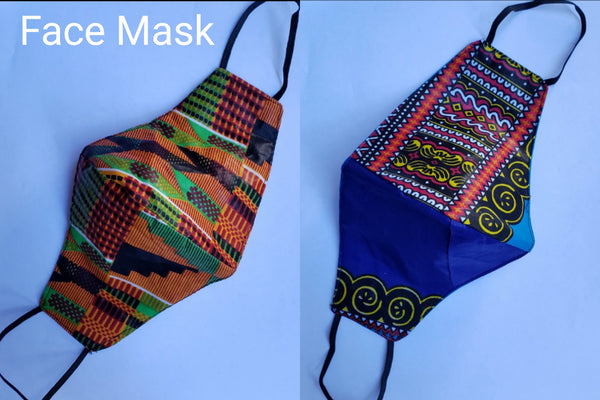 Cotton Face Mask- Printed