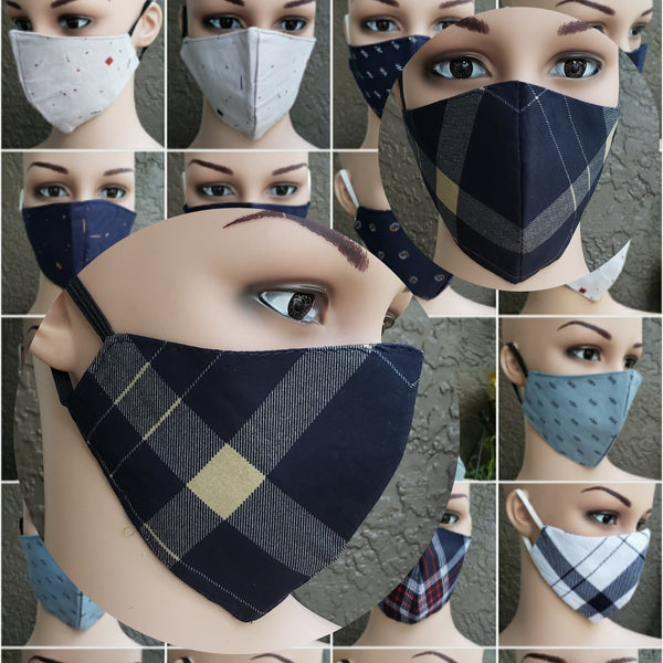 Cotton Printed Mask- Assorted