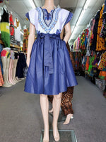 ALL DENIM MID LENGHT SKIRT #820